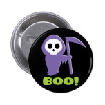 Grim Reaper 2 Inch Round Button