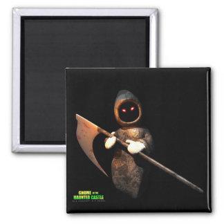 Grim Reaper 2 Inch Square Magnet