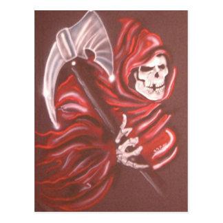 Grim Reaper 2 Postcard