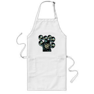 Grim Reaper 50th Birthday Gifts Long Apron