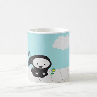 Grim Reaper and Flower Coffee Mug