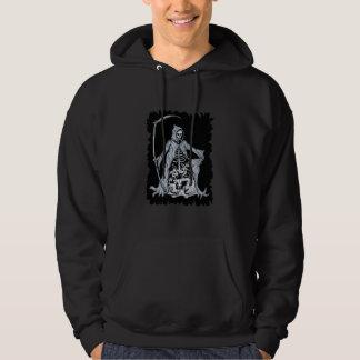 Grim Reaper Animal Skeletons Men's Hoodie