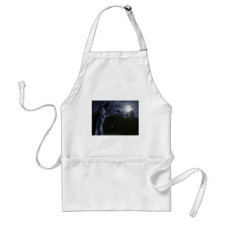Grim Reaper at the Office Adult Apron