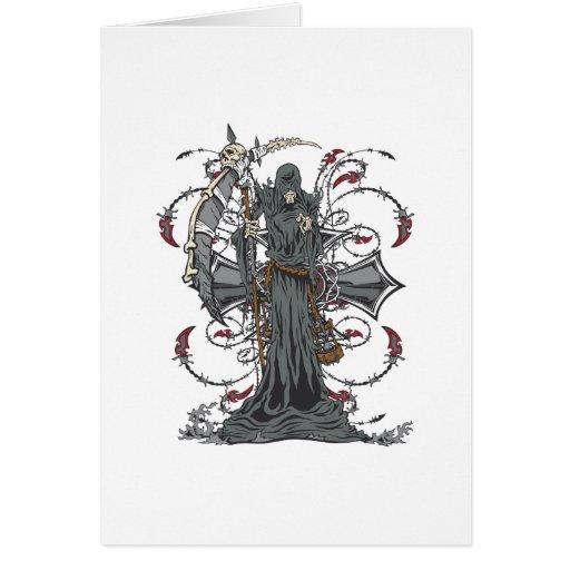 Grim Reaper Awaits Card