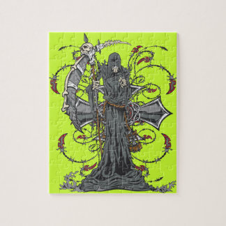 Grim Reaper Awaits Jigsaw Puzzle