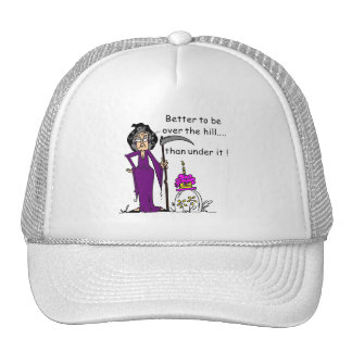 Grim Reaper Birthday Humor Hat