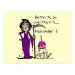 Grim Reaper Birthday Humor Postcard