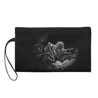 Grim reaper Black Sky wristlet purse