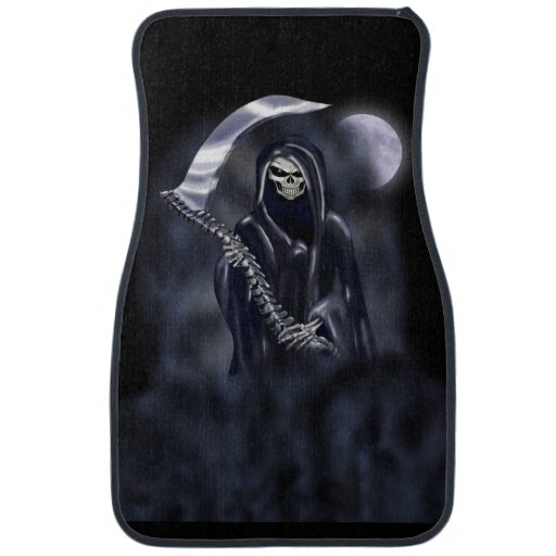 Grim Reaper Car Floor Mat Zazzle