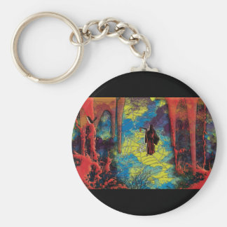 Grim reaper cartoon comic Halloween keyrings Key Chains