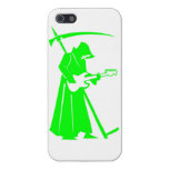 Grim Reaper creepy  funny iPhone 5 Finish Case