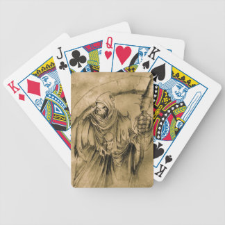Grim Reaper Death Bicycle Playing Cards