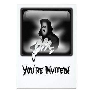 Grim Reaper Death Custom Invitation Card
