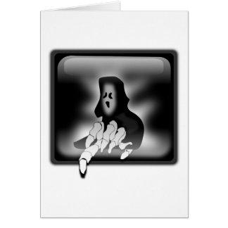 Grim Reaper Death Greeting Card