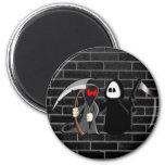 Grim Reaper Death Magnet