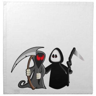 Grim Reaper Death Napkin