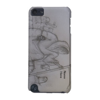 Grim Reaper Death Pencil Drawing ipod Touch Case