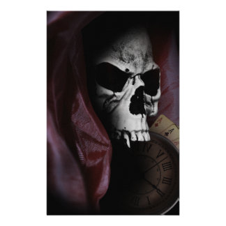 Grim Reaper Death Skeleton Skull Stationery