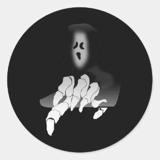 Grim Reaper Death Sticker