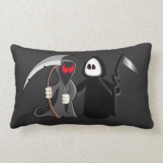 Grim Reaper Death Throw pillow