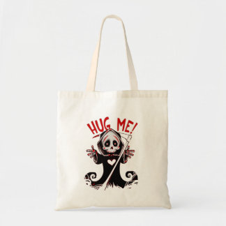 Grim Reaper Death Tote Bag
