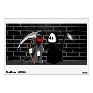 Grim Reaper Death Wall Decal