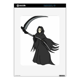 Grim Reaper Decal For iPad