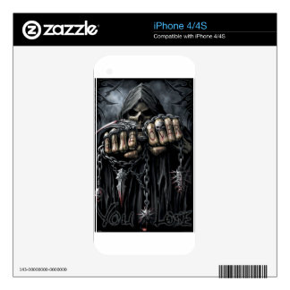 grim reaper decals for the iPhone 4
