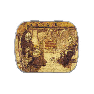 Grim Reaper Family Life Candy Tin