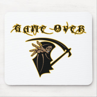 Grim Reaper Game Over Mouse Pad
