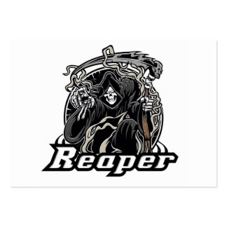 grim reaper gothic evil for halloween large business cards (Pack of 100)