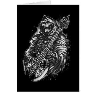 Grim  Reaper Guitar Greeting Card
