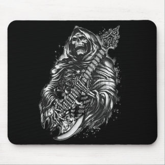 Grim  Reaper Guitar Mouse Pad