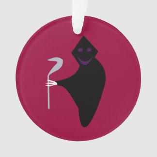 Grim Reaper Halloween Acrylic Ornament