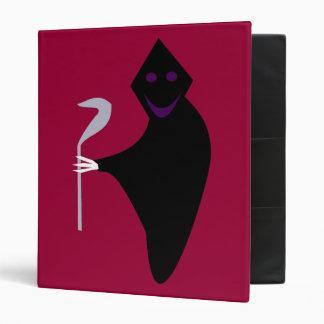Grim Reaper Halloween Binder