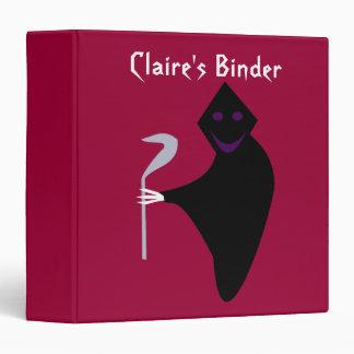 Grim Reaper Halloween Custom Binder