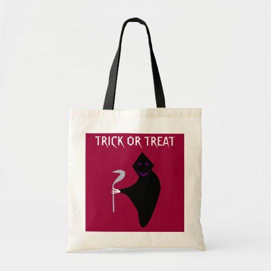 Grim Reaper Halloween Trick or Treat Bag