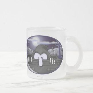 Grim Reaper Kilroy Frosted Mug