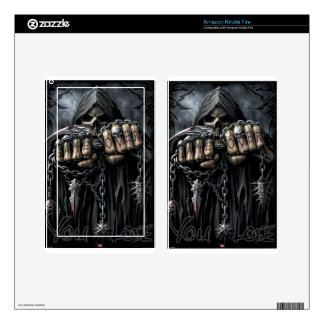 grim reaper kindle fire decal