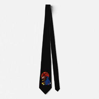 Grim Reaper Kitty Tie