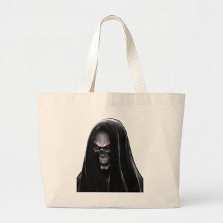 Grim Reaper Large Tote Bag