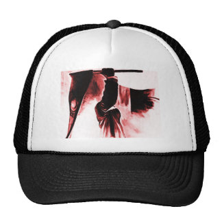 Grim Reaper of Death, Dark Tinted Mesh Hat