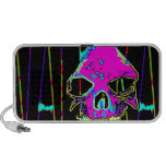 Grim Reaper over VALPYRA Pink by Valpyra Laptop Speakers