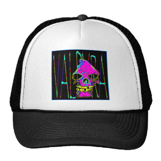 Grim Reaper over VALPYRA  Pink by Valpyra Trucker Hat