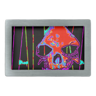 Grim Reaper over VALPYRA  Red by Valpyra Belt Buckle