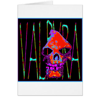 Grim Reaper over VALPYRA  Red by Valpyra Card