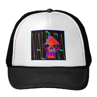Grim Reaper over VALPYRA  Red by Valpyra Trucker Hat