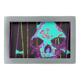 Grim Reaper over VALPYRA Turquoise by Valpyra Belt Buckle