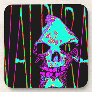 Grim Reaper over VALPYRA Turquoise by Valpyra Coaster