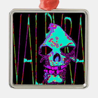Grim Reaper over VALPYRA Turquoise by Valpyra Metal Ornament